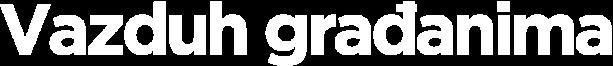 Vazduh građanima logo